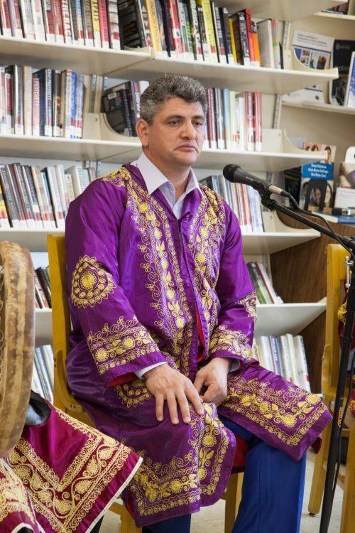 Rustam Sammarqandi and Bukharian Jewish diaspora, june 27-2018-3412